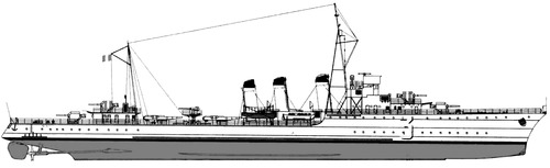 NMF Tempete 1938 (Destroyer)