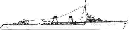 NMF Tigre 1948 (Destroyer)