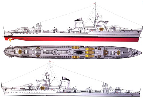 ORP Blyskawica H34 1938 [Destroyer]