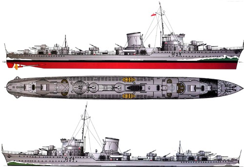 ORP Blyskawica H34 1940 [Destroyer]