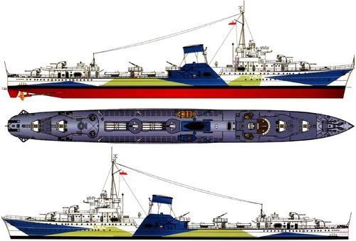 ORP Blyskawica H34 1941 [Destroyer]