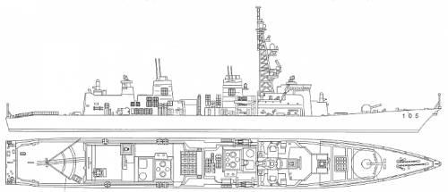 JMSF Defense Ship Inazuma