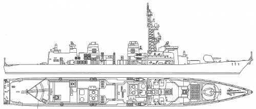 JMSF Defense Ship Onami