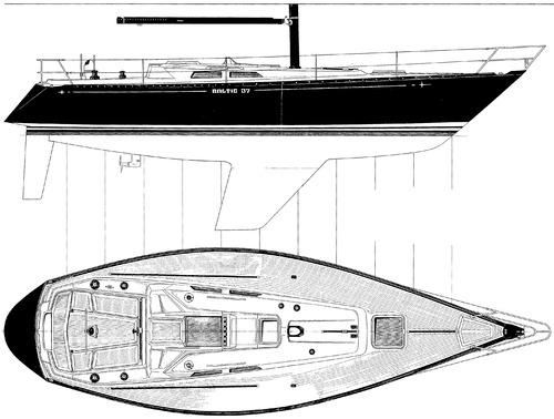 Baltic 37 deck layout