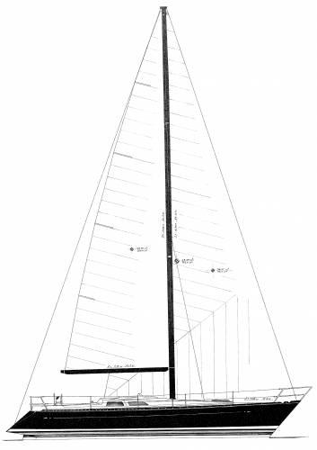 Baltic B38DP sailplan