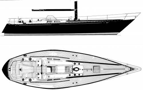 Baltic B42 Deck