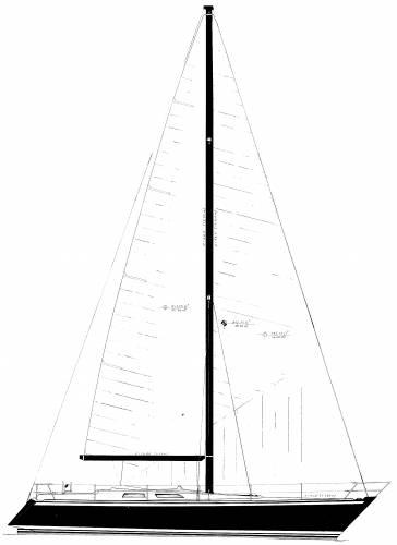 Baltic B42DP Sailplan