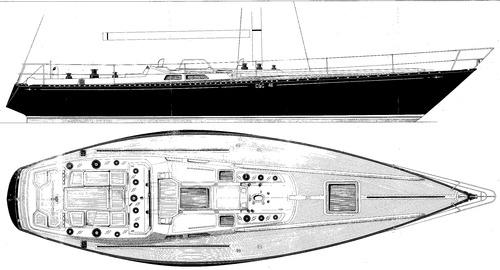 Baltic B46 Deck plan