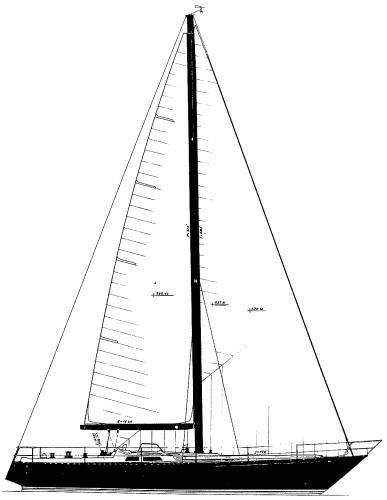 Baltic B46 sailplan