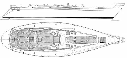 Baltic B58 Deck