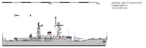 Aus FF Type 12 Common Hull Frigate AU