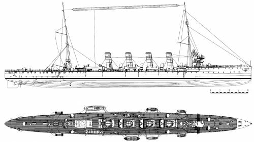 KuK Admiral Spaun [Light Cruiser] (1910)