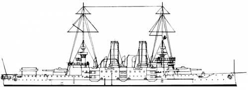 KuK Habsburg (Battleship) (1903)