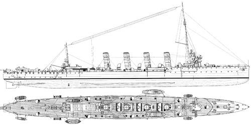 KuK Helgoland (Light Cruiser) (1914)