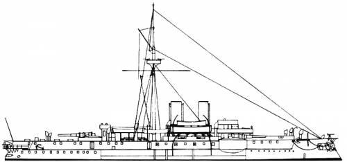 KuK Kronprinz Erzherzog Rudolf (Battleship) (1889)