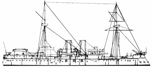 KuK Kronprinzessin Erzherzogin Stefani (Battleship) (1889)