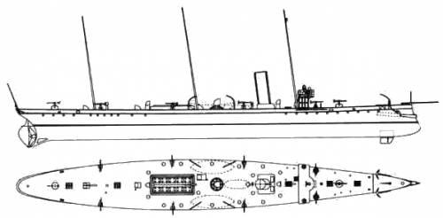 KuK Meteor (Destroyer) (1897)