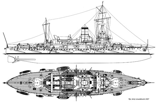 KuK Monarch (Coastal Defense Ship) (1898)