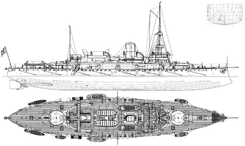 KuK Monarch (Coastal Defense Ship) (1898)