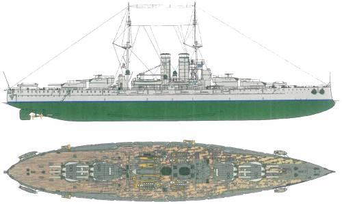 KuK Prinz Eugen [Battleship] (1915)