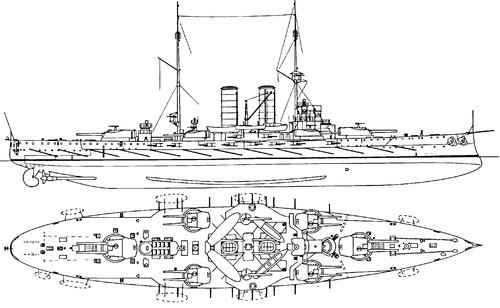 KuK Radetzky (Battleship) (1910)