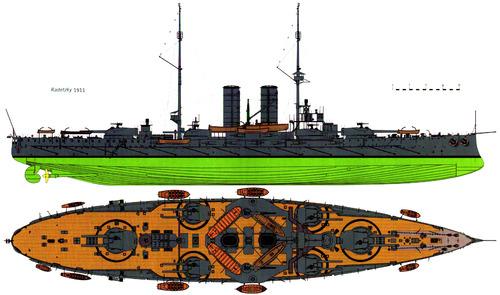 KuK Radetzky (Battleship) (1911)
