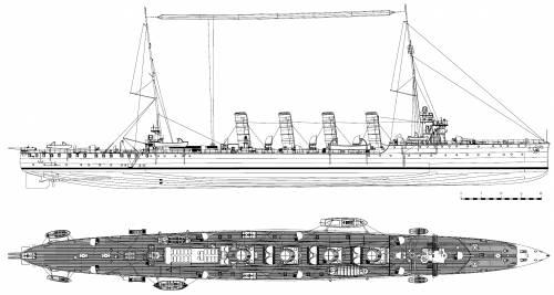 KuK Saida [Light Cruiser] (1914)
