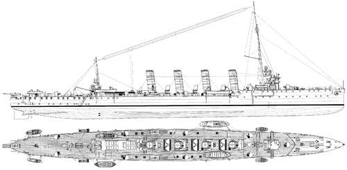 KuK Saida (Light Cruiser) (1914)