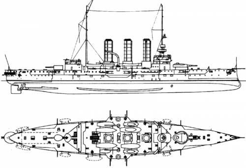KuK Sankt Georg (Armoured Cruiser) (1915)