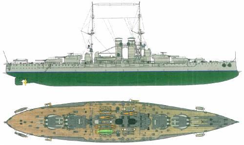 KuK Szent Istvan [Battleship] (1915)