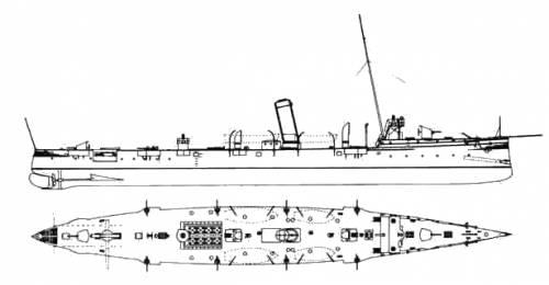 KuK Trabant (Destroyer) (1891)