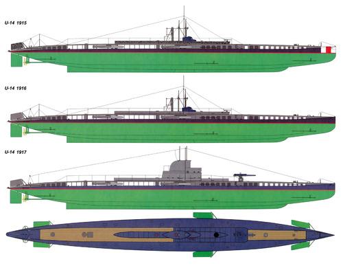 KuK U-14 (ex NMF Curie Submarine)