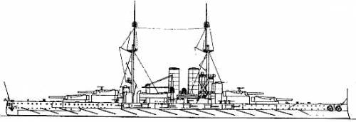 KuK Viribus Unitis (Battleship) (1916)