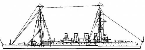 HMAS Adelaide (Cruiser) (1922)