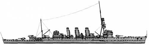 HMAS Adelaide (Cruiser) - Australia (1942)