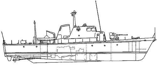 HMAS Adroit P82 (Attack Class Patrol Boat)