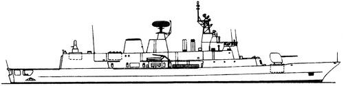 HMAS Anzac FFH-150 (MEKO 200 ANZ Frigate)