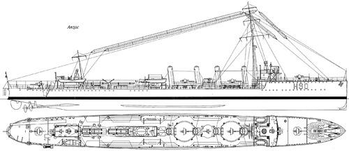 HMAS Anzac H90 (Destroyer Leader) (1917)