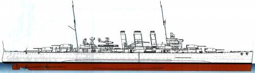 HMAS Australia D84 [Heavy Cruiser] (1940)