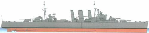 HMAS Australia D84 [Heavy Cruiser] (1944)