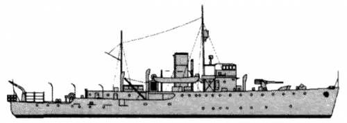 HMAS Bendigo (Minesweeper) - Australia (1941)