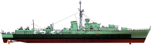 HMAS Camperdown D32 (Destroyer) (1947)