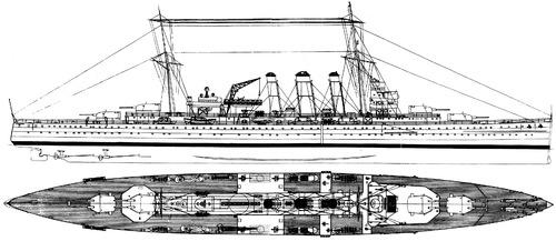HMAS Canberra D33 (Heavy Cruiser) (1941)
