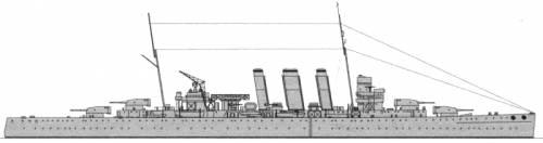 HMAS Canberra (Heavy Cruiser) (1940)