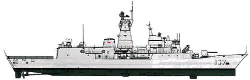 HMAS Perth FFH-157 (MEKO 200 ANZ Frigate)