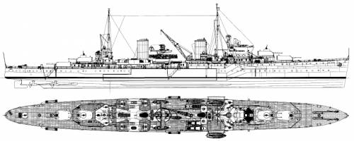 HMAS Perth (Light Cruiser) (1942)