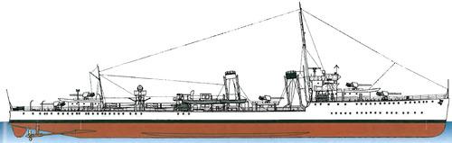 HMAS Stuart D00 (Flotilda Leader)