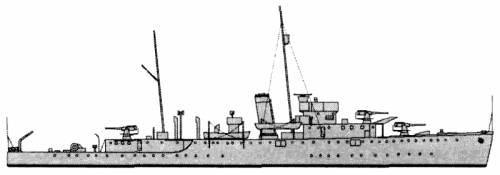 HMAS Swan (Sloop) - Australia (1940)