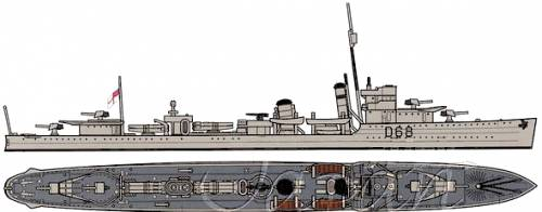 HMAS Vampire [Destroyer]
