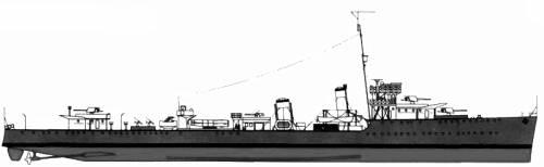 HMAS Vendetta (Destroyer) - Australia (1942)